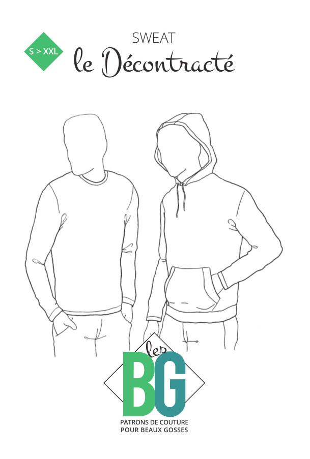 Sweat le Décontracté | Patrons de couture les BG
